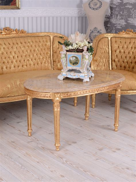 canapé ebay sofa set baroque set antique armchair marble table