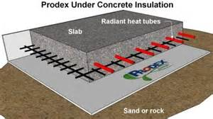 insulating a concrete floor with radiant heat how to install concrete insulation