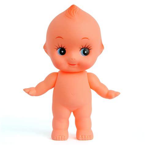 Kewpie Doll L by Kewpie Doll Baby Cupie Vintage Cameo Figurine Rubber