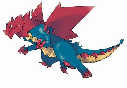 Mega Druddigon Evolution Deviantart Gliscor Pokemon Drawing