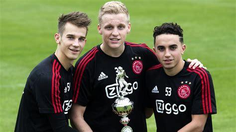 nouri abdelhak beek van donny ajax generation stars united signing