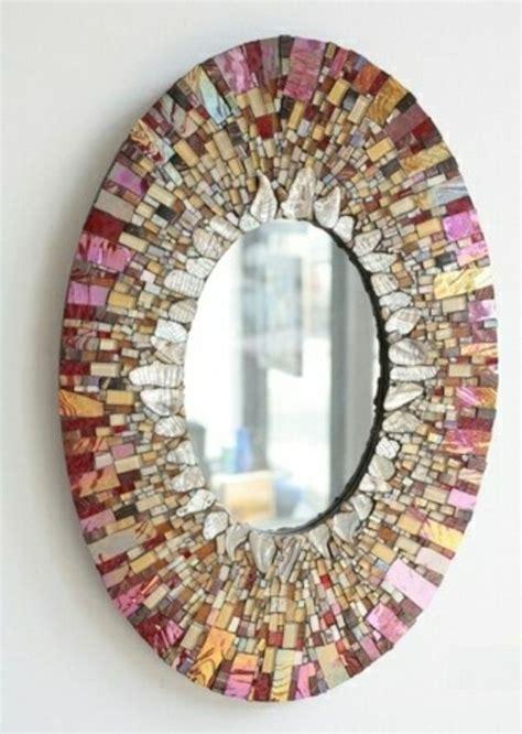 spiegel mosaik deko designer spiegel dekoideen mit gl 228 nzenden accessoires mosaik designer mosaics