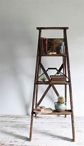 Old, Step, Ladder, Books