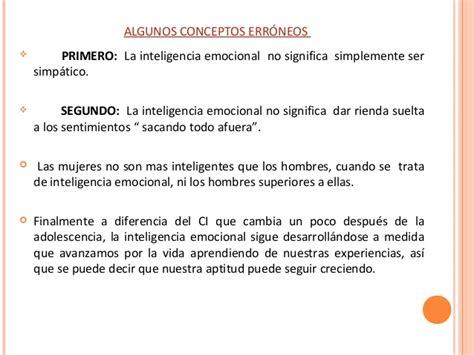 Exposición De Inteligencia Emocional