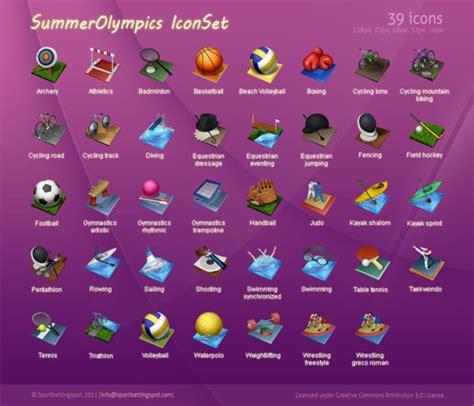 iconos de los juegos olimpicos kabytes