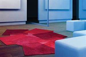 tapis design gris et rouge images With tapis design luxe