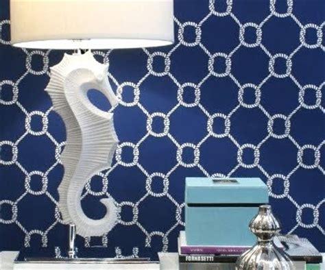 rope wallpaper nautical wallpaper decor ideas inspiration coastal Nautical