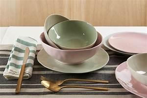Geschirr Set Pastell : salvia suppenschale keramikgeschirr in zartem pastell valeria gunz ~ Whattoseeinmadrid.com Haus und Dekorationen