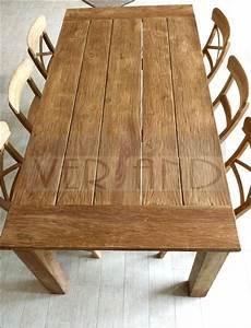 Rustikale Esstische Holz : tisch massivholz alt cheap teak alt holz bootsholz ~ Michelbontemps.com Haus und Dekorationen