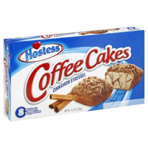 Where do the calories in hostess cinnamon streusel coffee cake come from? Hostess Coffee Cakes (11.6 oz) from Super King - Instacart