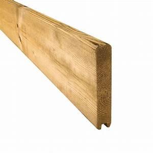 Planche Bois Autoclave : planche de finition droite parana en sapin trait ~ Premium-room.com Idées de Décoration