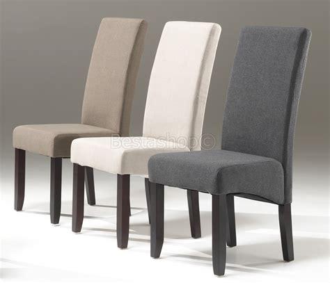 chaises salle à manger pas cher chaises salle a manger tissus