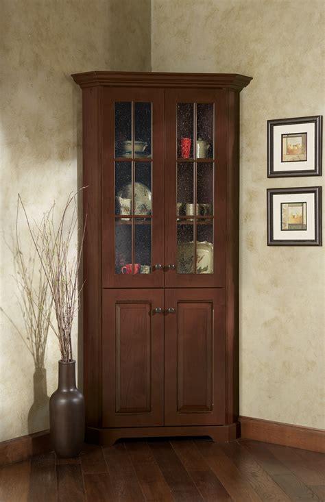 corner glass cabinet corner cabinet with glass doors homesfeed