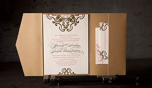 foil stamped wedding invitation no 12371 boxcar press With wedding invitations with foil print
