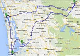 india map kerala backw...