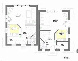 Haus Grundrisse Beispiele : doppelhaus generationshaus roland heier bauunternehmung gmbh ~ Frokenaadalensverden.com Haus und Dekorationen