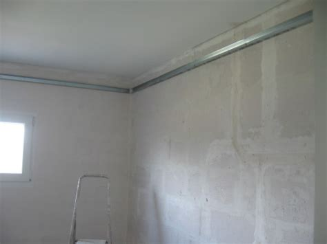 plafond suspendu pour salle de bain maison travaux