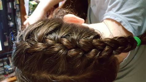 double french braids  wikihow