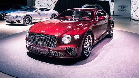 2018 Bentley Continental Gt At Frankfurt Motor Show