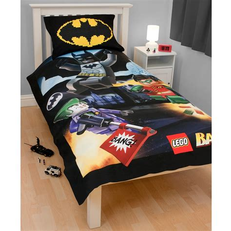 Size Batman Bedding by Lego Batman Duvet Cover Official New Sealed Ebay