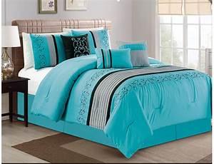 Turquoise, Comforter, Set