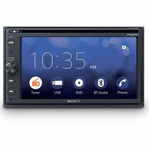 Sony Xavax200sxm  Dvd Player Car Stereo With Bluetooth And Siriusxm