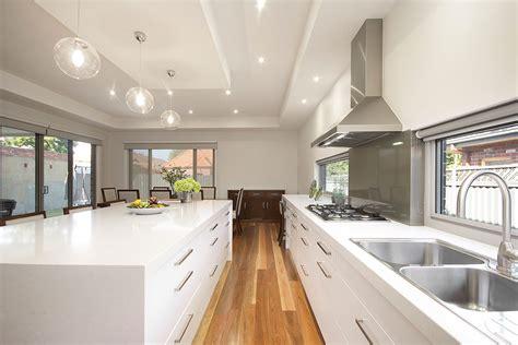 organic white caesarstone kitchens benchtops inside out 3771
