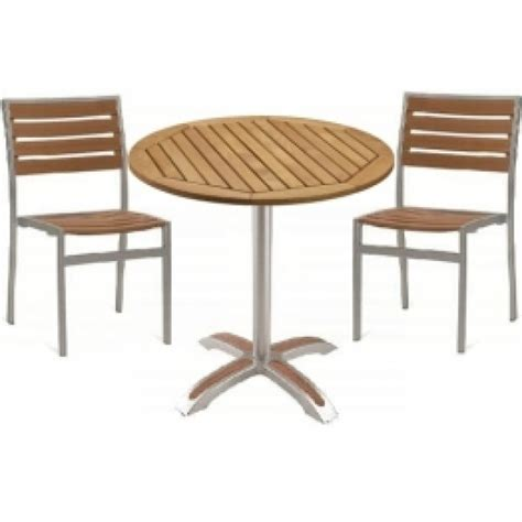 mezzi outdoor restaurant tables chairs bistro set