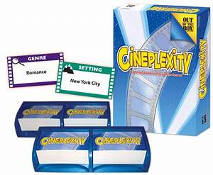last minute Christmas ts Cineplexity board game