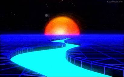 Loop Giphy Kidmograph Retro Gifs Vaporwave Animated