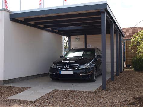 Anbau Carport Metall  Haus Ideen