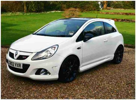 vauxhall white 2009 vauxhall corsa vxr arctic edition white car for sale