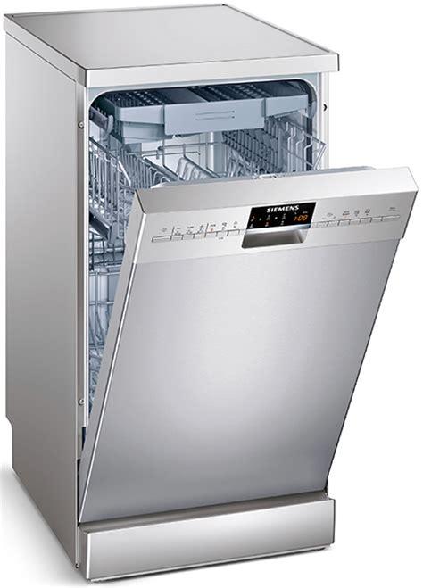 siemens freestanding narrow dishwasher