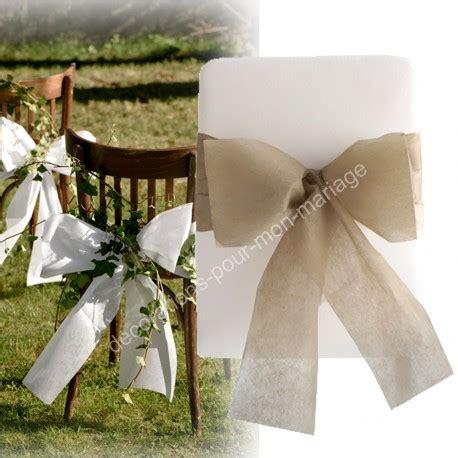 Décoration De Mariage » Noeuds De Chaise Facile à Monter