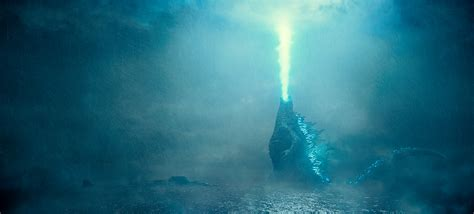 Godzilla Rises And Unleashes His Atomic Breath In Hi-res