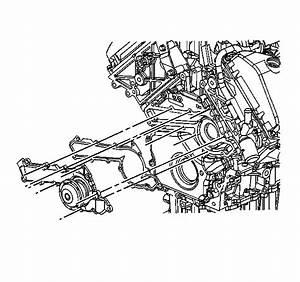 Remove 2000 Oldsmobile Alero Water Pump Repair Manual
