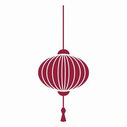 Chinese Lantern Tassel Silhouette Transparent Svg Vector