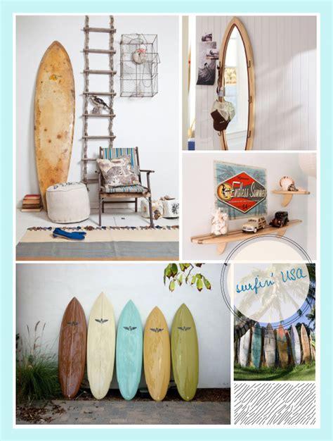 planche de surf dans la d 233 co