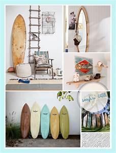 Deco Planche De Surf : planche de surf dans la d co ~ Teatrodelosmanantiales.com Idées de Décoration