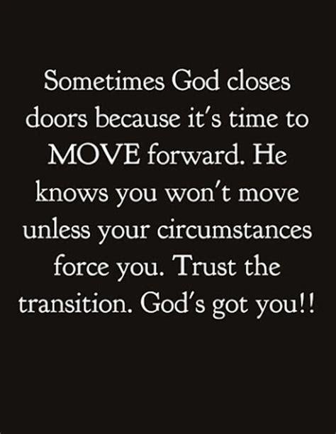 Quotes About Moving On And Trusting God