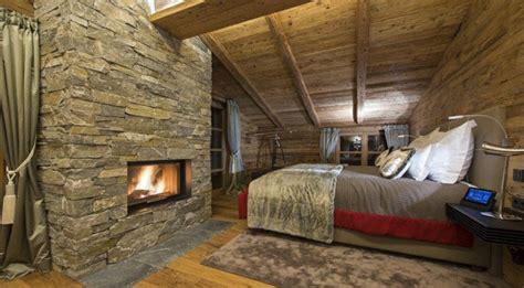 chambre chalet luxe dcos de chambres pour un esprit chalet with deco chambre