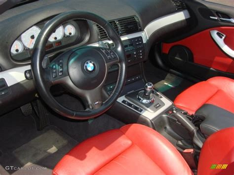 bmw red interior imola red interior 2004 bmw m3 convertible photo 51219488