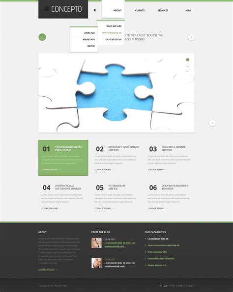 businees 2 joomla template business joomla template 38874