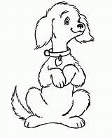 Coloring Dog Pages Printable sketch template
