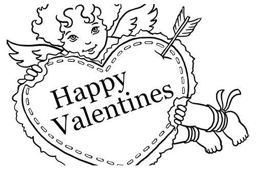 baixar biglietti san valentino da stampare e colorare