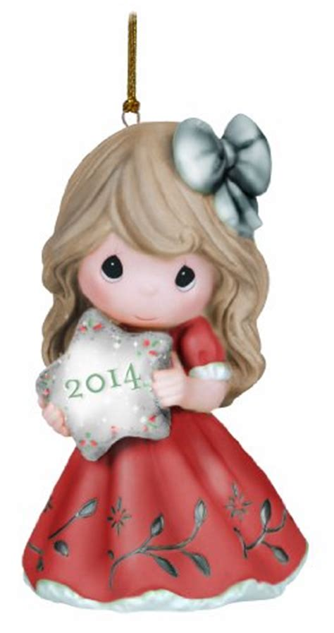 precious moments collecting christmas ornaments and figurines