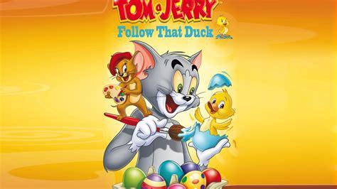 tom  jerry follow  duck hd wallpapers cartoons