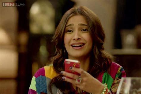 Sonam Kapoor Tries Hard To Avoid
