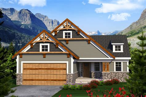 Craftsman Style House Plan 2 Beds 3 00 Baths 1855 Sq/Ft