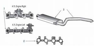 Jeep Grand Cherokee Wj Replacement Exhaust